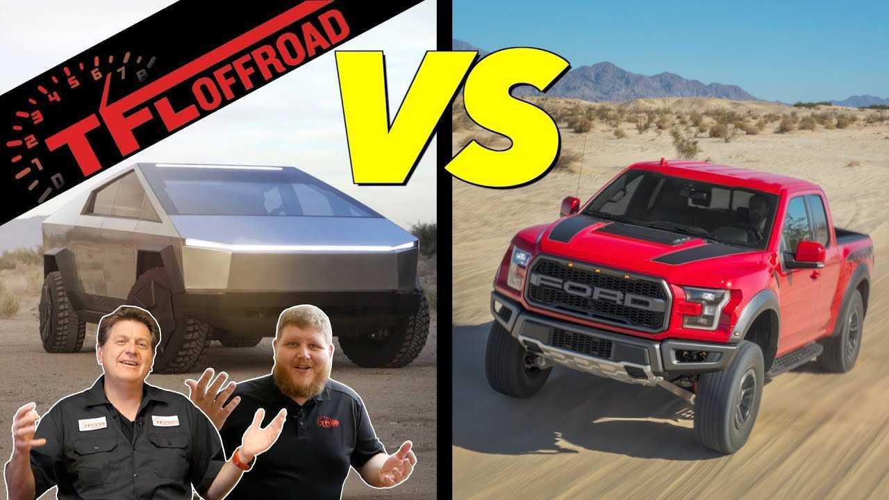 Tesla Cybertruck Off-Road Champ (Or Not): Ford Raptor ...