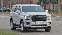 GMC Yukon Spy Photos