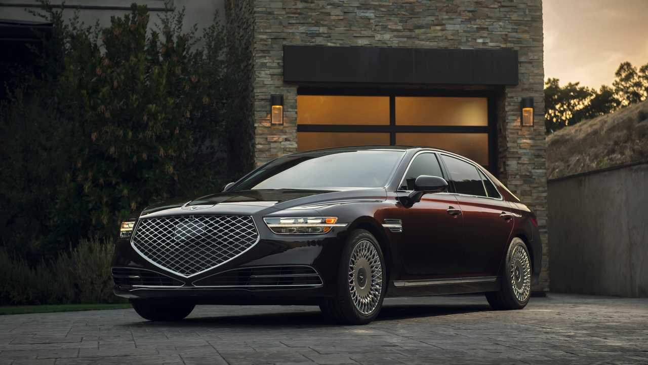 Genesis G90 Pricing Reportedly Starts At $73,195, AWD Close To $80K - Motor1