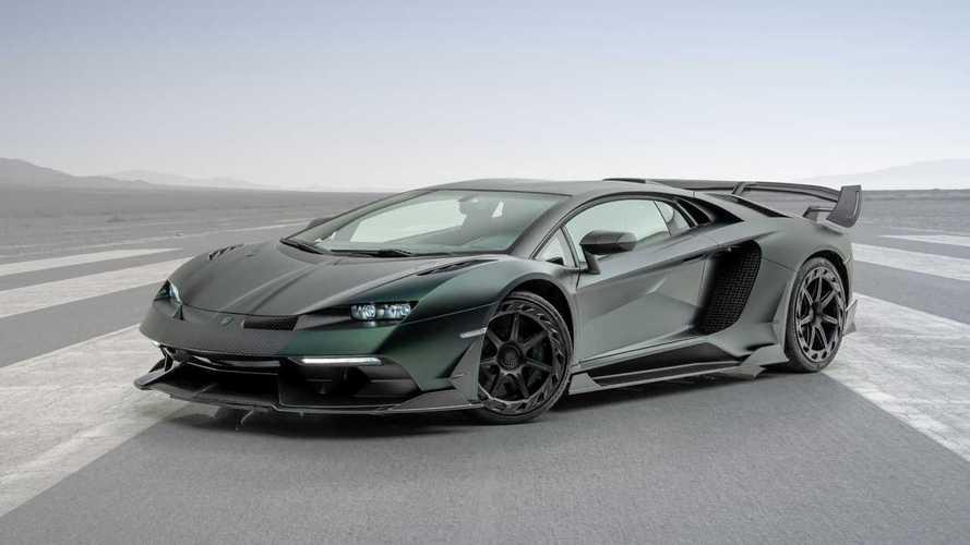 Mansory Cabrera based on the Lamborghini Aventador SVJ