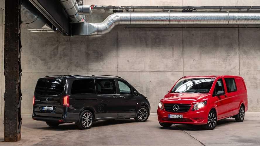 Mercedes-Benz yeni Vito'yu tanıttı
