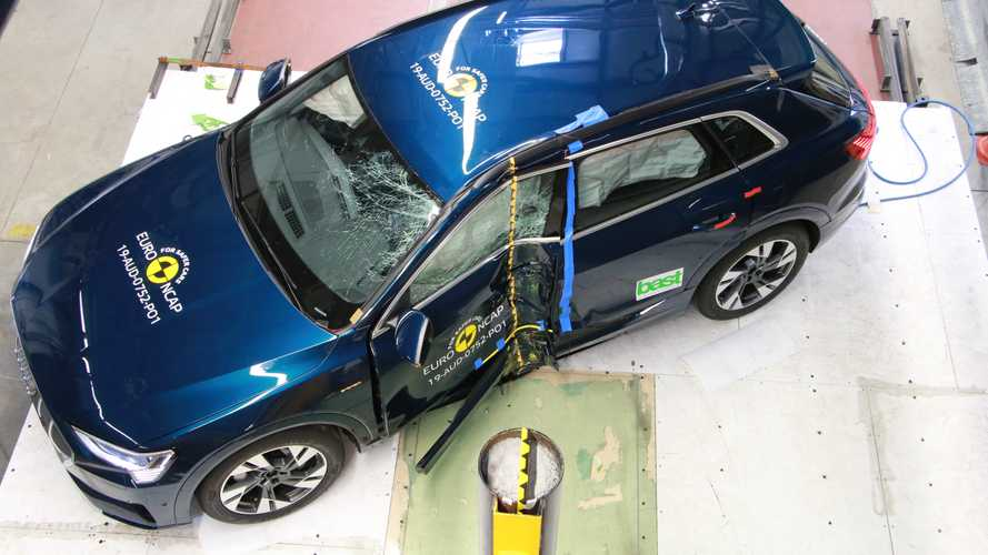 Crash Test EURO NCAP 2019 Audi e-tron