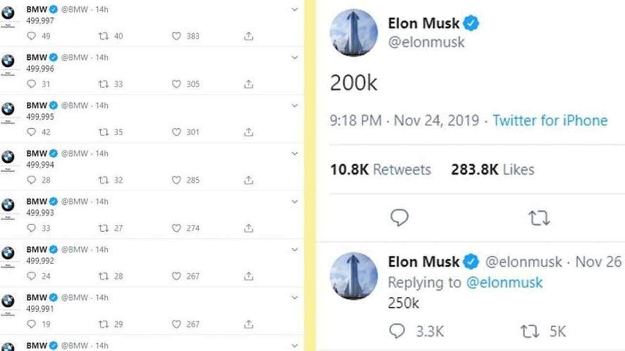 BMW, Elon Musk ile dalga geçti