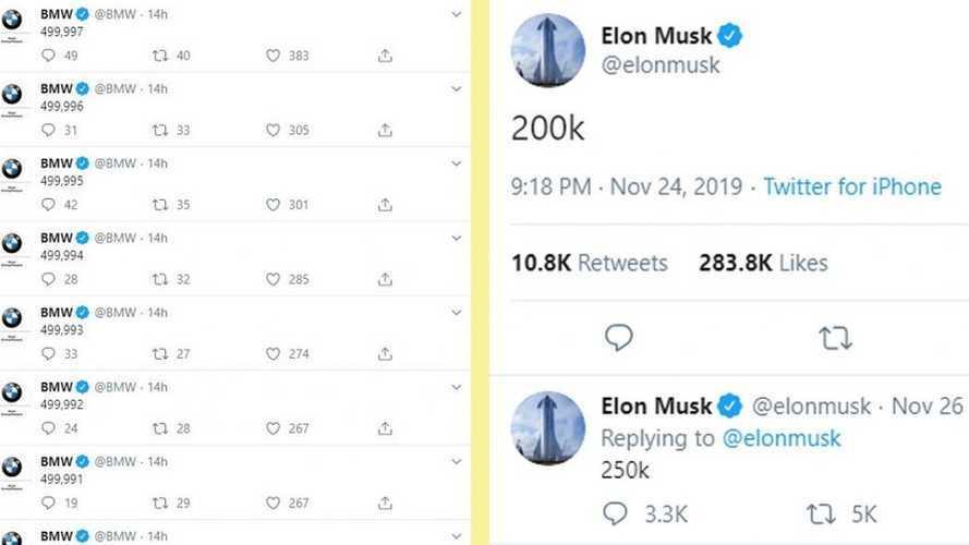 BMW, Elon Musk'ı tiye aldı