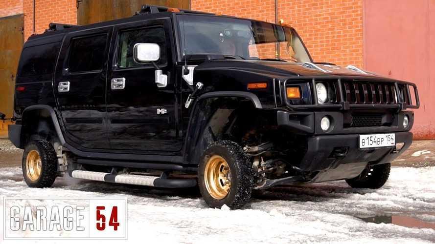 Meddig jut el egy Hummer 13 colos kerekekkel?