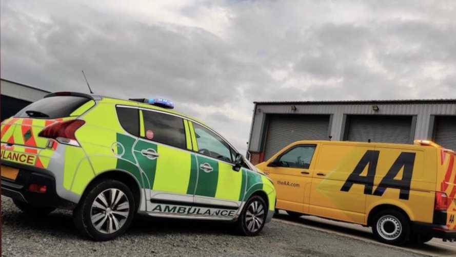 AA provides London ambulance service with breakdown support