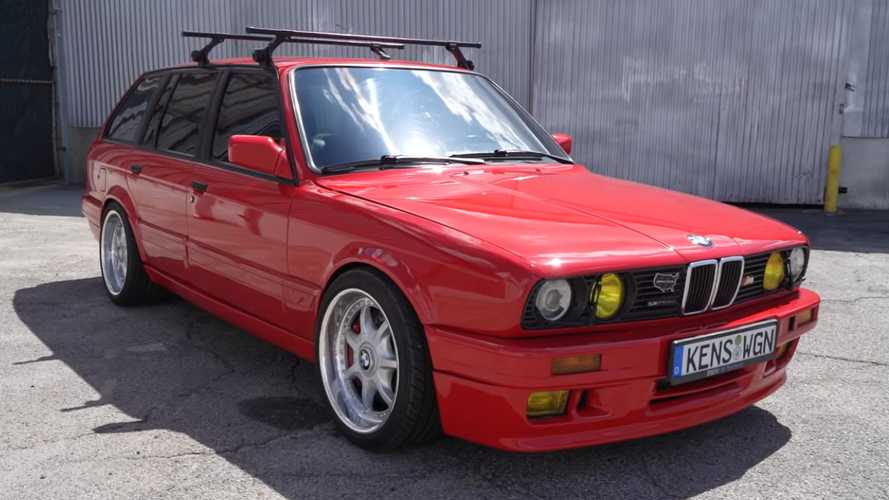 BMW 316 Touring Turned Into Supercharged Wagon Beast