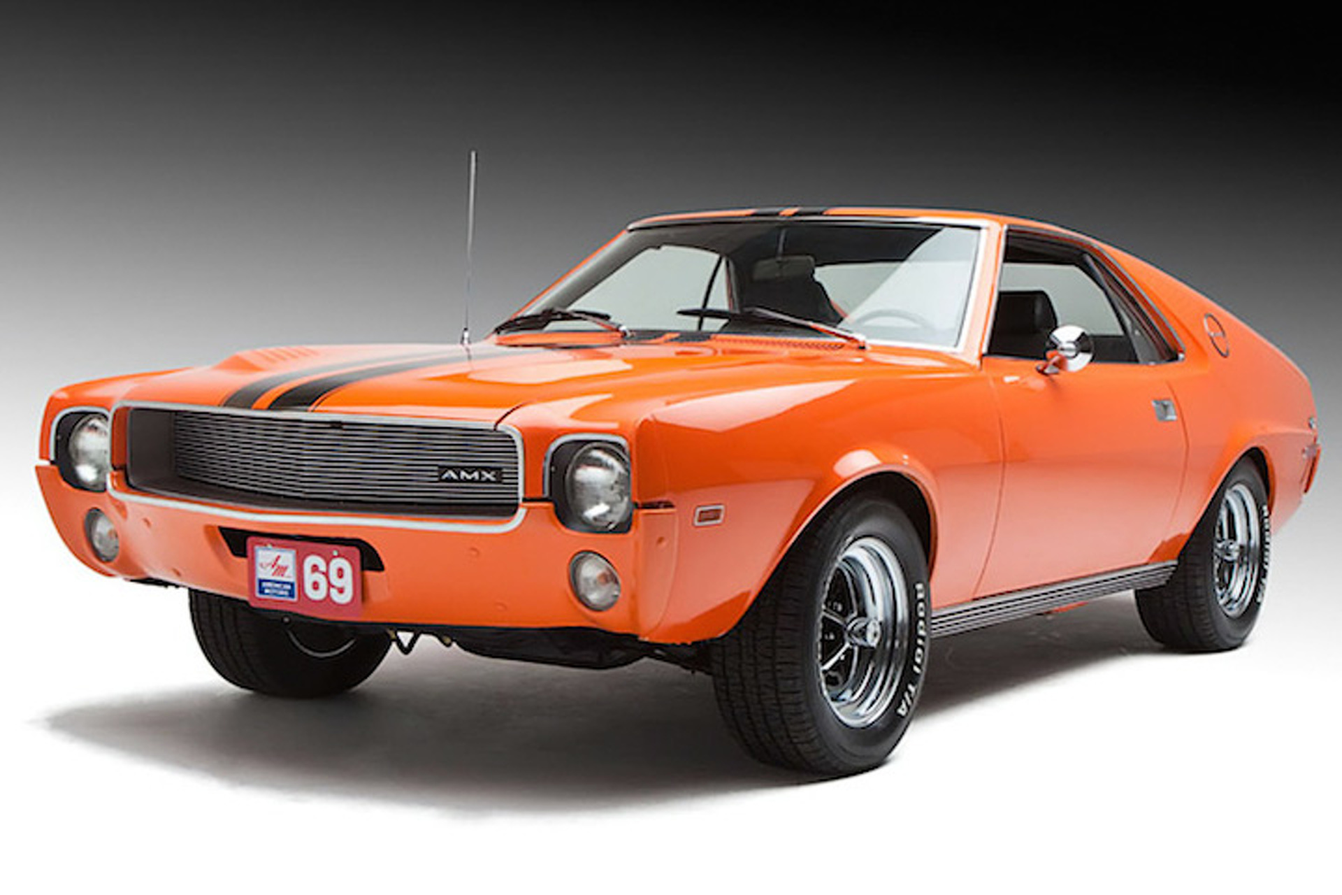 Amc amx the first true sports car of the 1960s