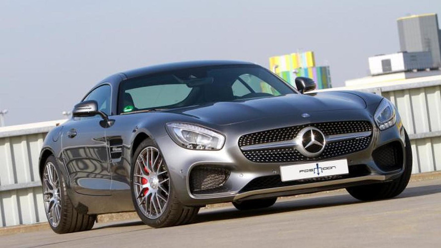 Mercedes-AMG GT and C63 receive power boosts from POSAIDON