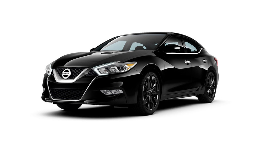 Nissan Maxima SR Midnight Edition introduced