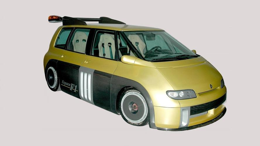 1994 Renault Espace F1: забытые концепт-кары