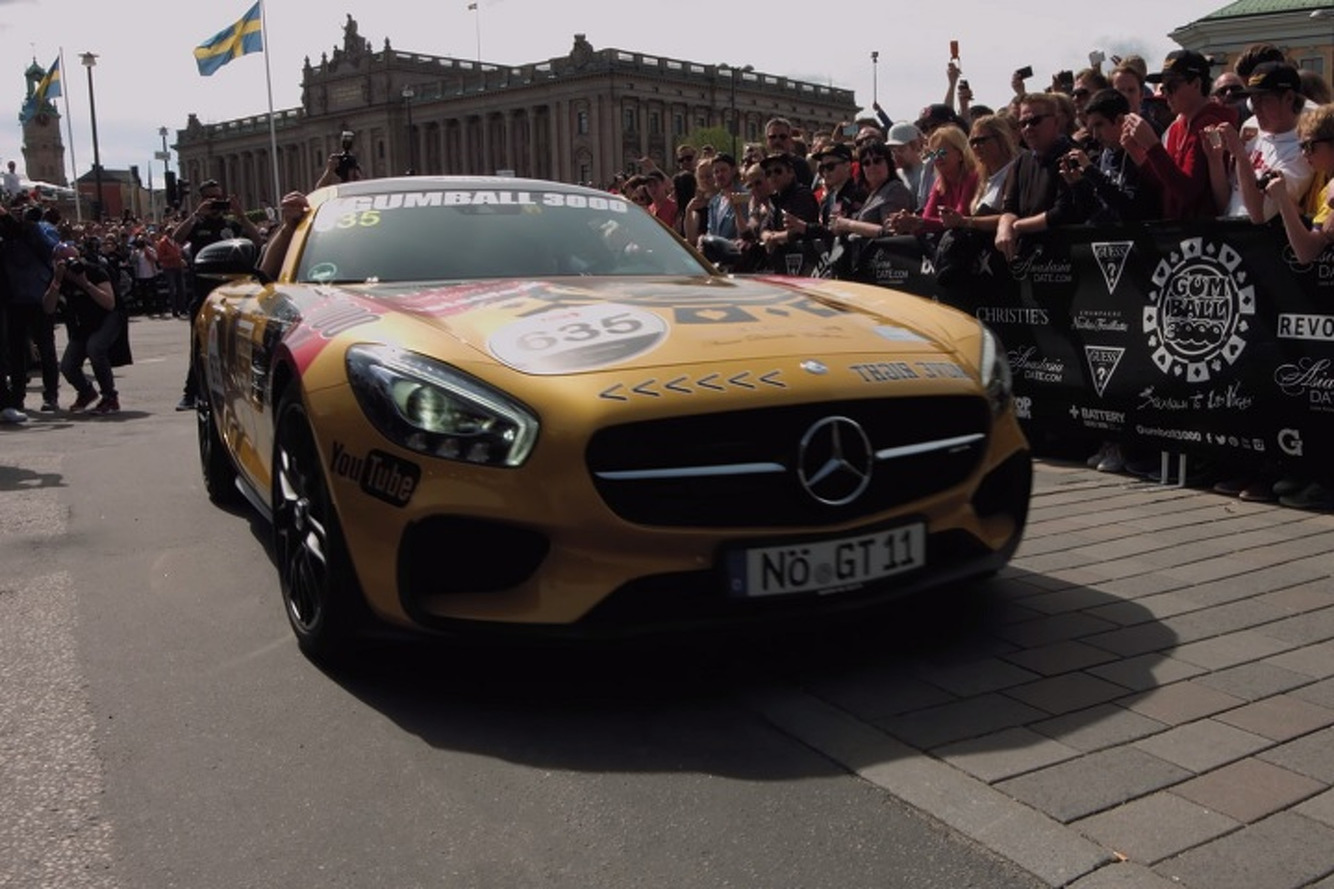 Watch The Amazing Cars of the Gumball 3000 Roll Out