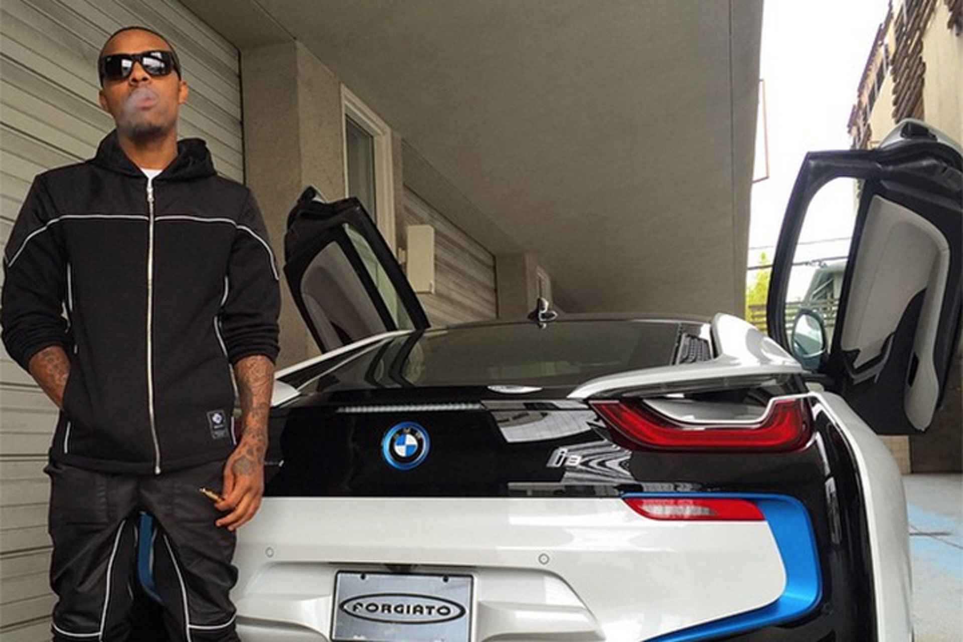 Bow Wow S Fiance Bought Him A Bmw I8