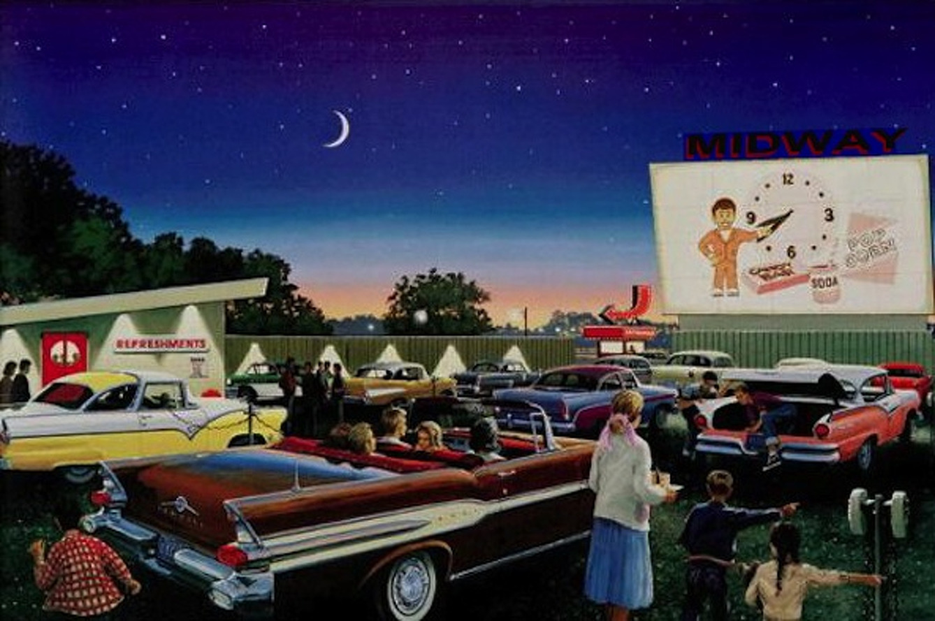 Drive-In Theaters Might See Healthy Boost During Coronavirus Pandemic