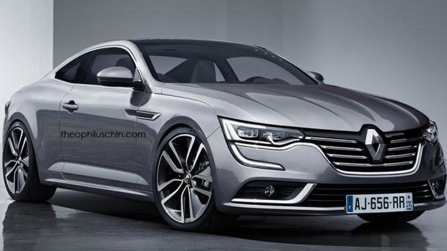 Renault Talisman Coupe render shows a worthy Laguna Coupe successor that won't happen