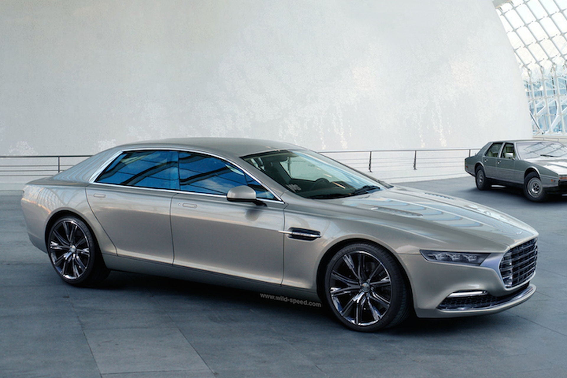 Reborn Aston Martin Lagonda Concept Looks Surprisingly Good - Aston martin concept