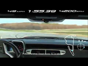 2012 Chevrolet Camaro ZL1 Virginia International Raceway Footage
