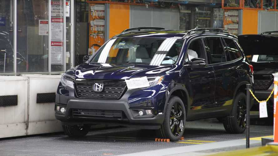 Honda Passport Starts Rolling Off The Assembly Line In Alabama [UPDATE]