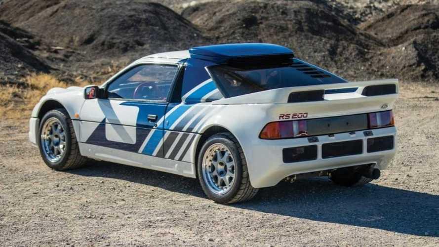 Cette Ford RS200 Groupe B de 550 chevaux bientôt aux enchères !