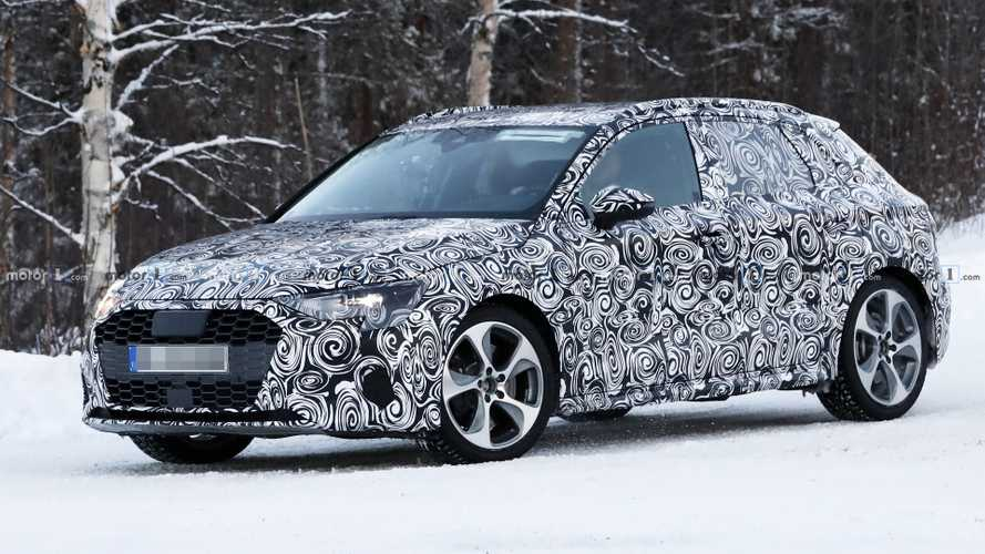 2020 Audi S3 caught inside and out in a winter wonderland