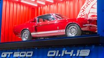2020 Ford Shelby GT500 teaser at the 2018 Los Angeles Auto Show