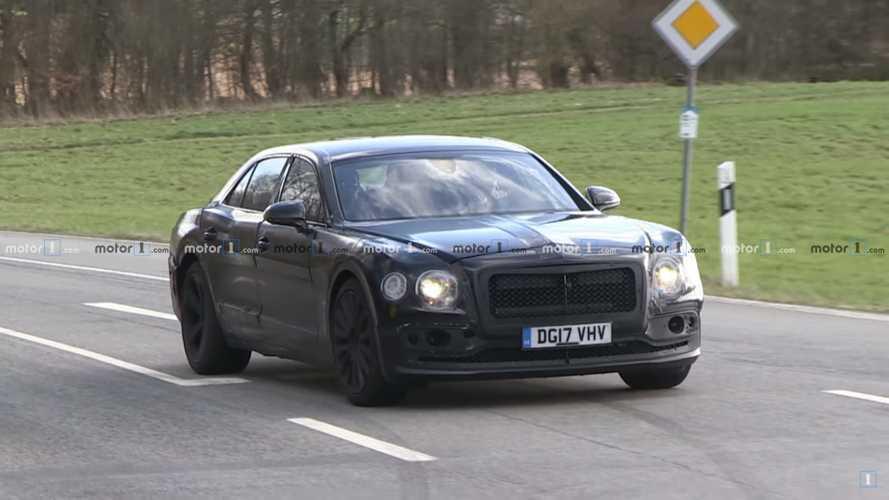 La future Bentley Flying Spur est presque prête