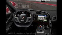 Mid Engined Corvette Interior Fan Render