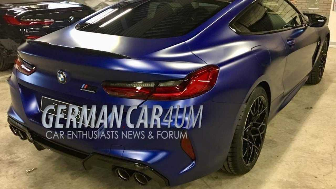 BMW M8 competition spy image