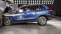 Nuova BMW X5, il crash test Euro NCAP