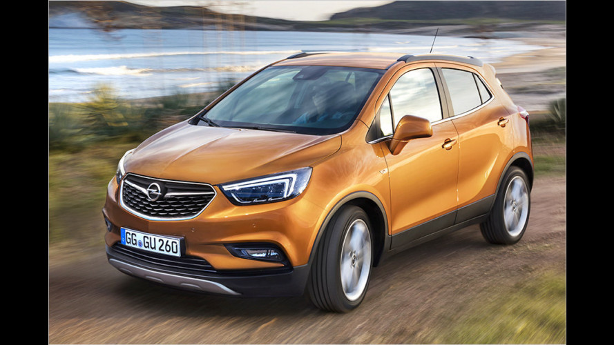 Opel Mokka X ab sofort bestellbar