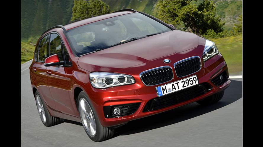 Erster BMW mit Frontantrieb: Wir haben den 2er Active Tourer getestet