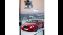 Ein Bentley am Heli