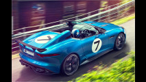 Jaguar-Studie in Goodwood