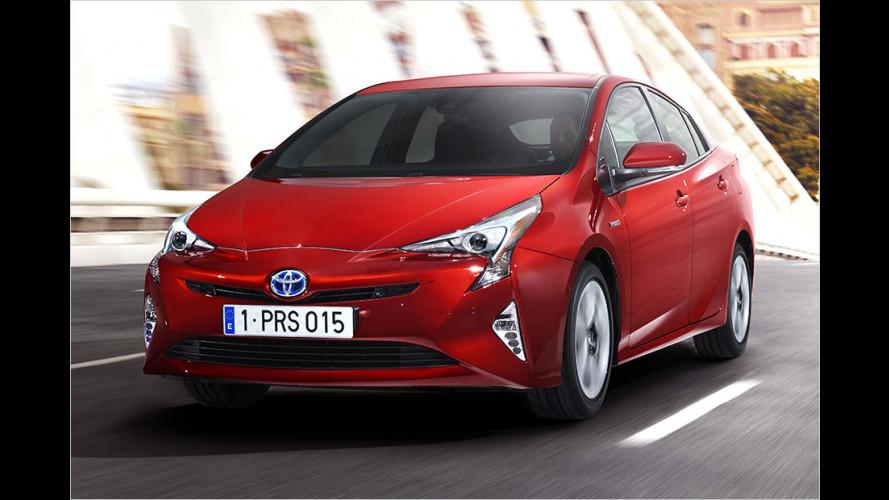 Toyota Prius geht in die vierte Generation (2015)