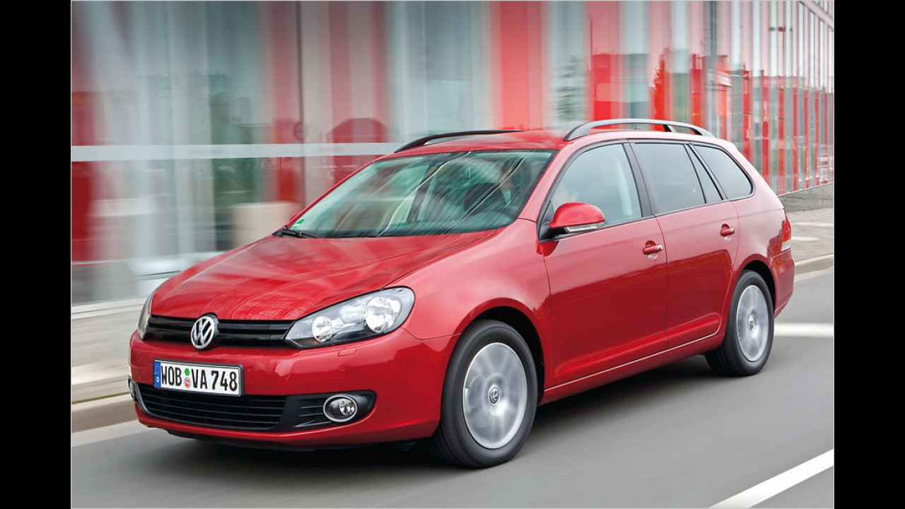 VW Golf Variant 1.6 TDI 4Motion