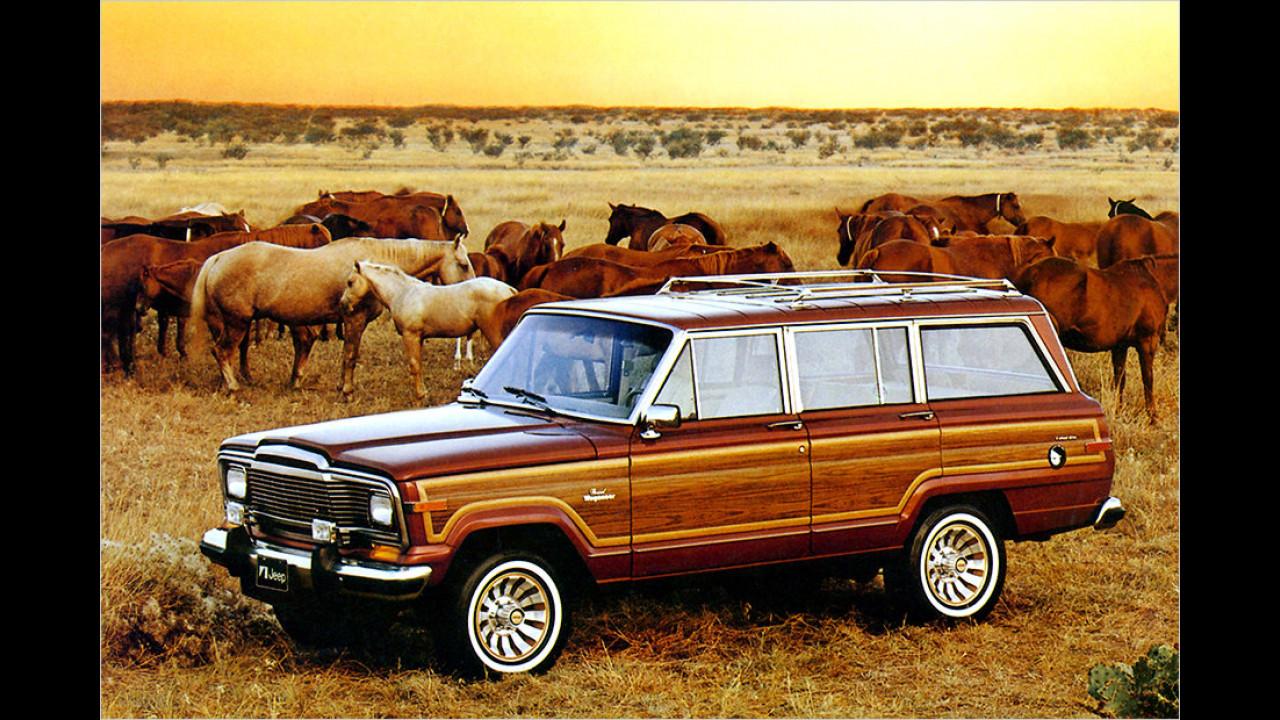 Jeep Grand Wagoneer: 1984-1991