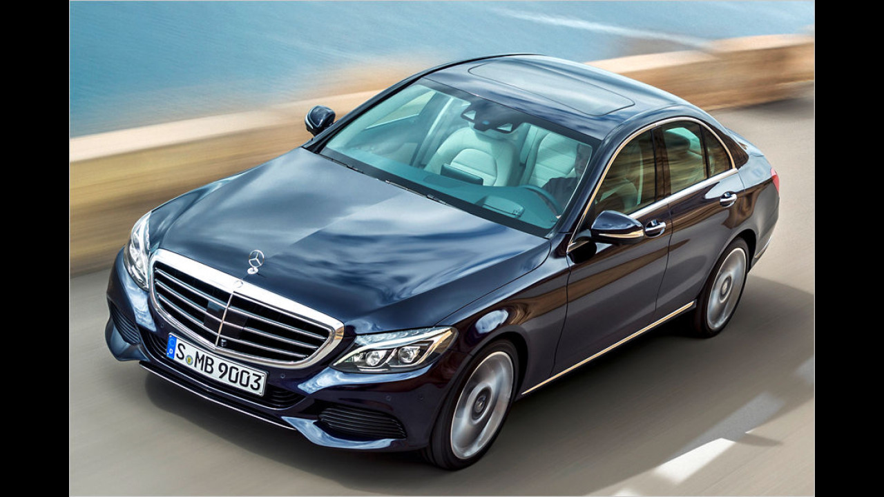 Mittelklasse, Platz 2: Mercedes C-Klasse (16.117 Stück)