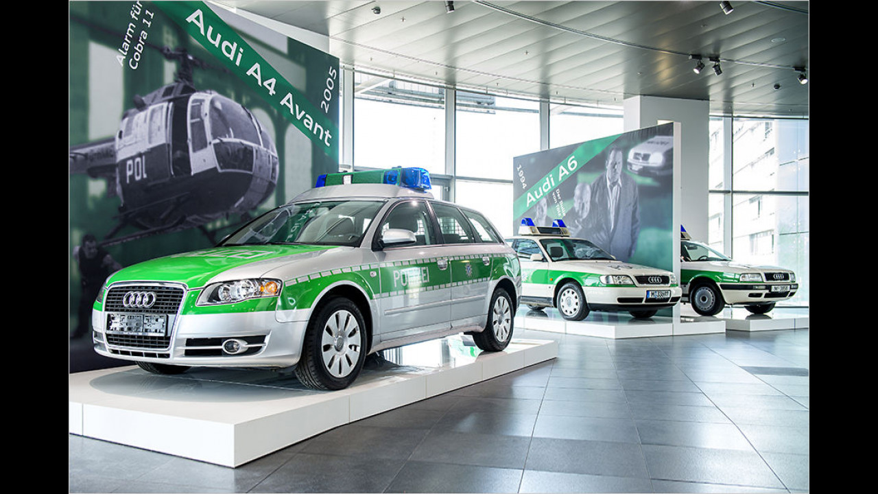 Audi 80 (B4), Audi A6 (C4) und A4 (B7)