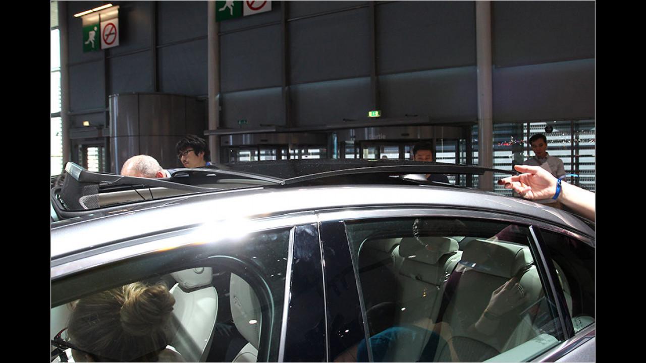 Sitzprobe Jaguar XE