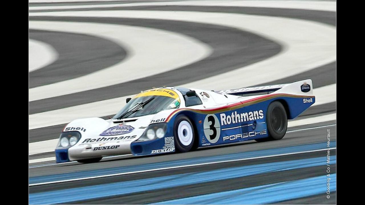 Platz 8: Porsche 956, Baujahr 1982