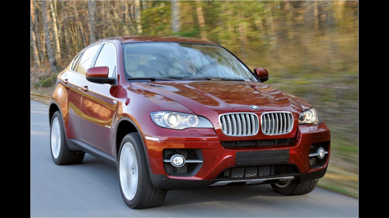 Platz 6: BMW X5/X6 3.0d