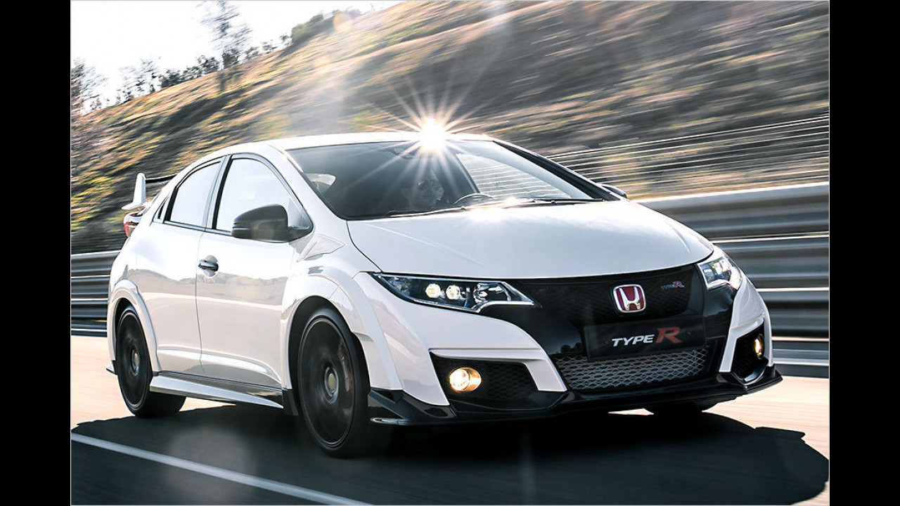 Honda Civic Type R: 310 PS