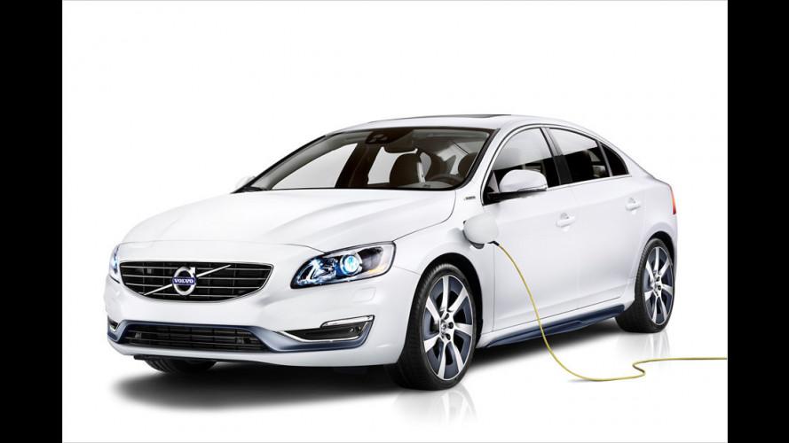 Volvo S60L PPHEV: Erster Plug-in-Hybrid mit neuem Drive-E-Motor