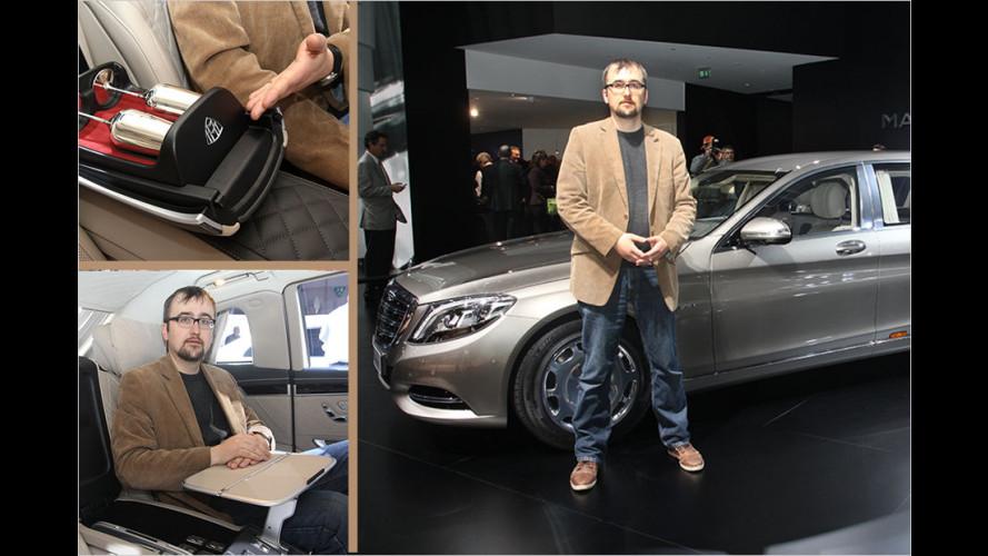 Sitzprobe im neuen Mercedes-Maybach Pullman