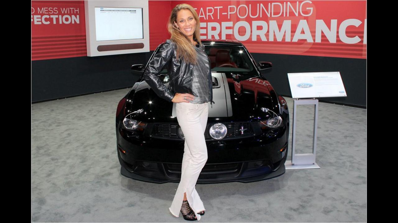 Was macht denn unsere kleine Meerjungfrau Arielle auf der LA Auto Show?