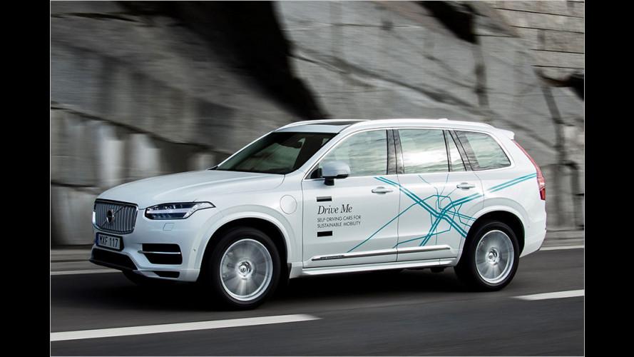 Volvo und Uber bauen autonomes Fahrzeug