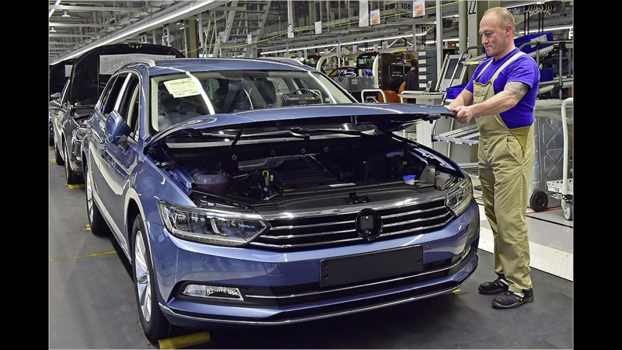 Kurzarbeit bei VW