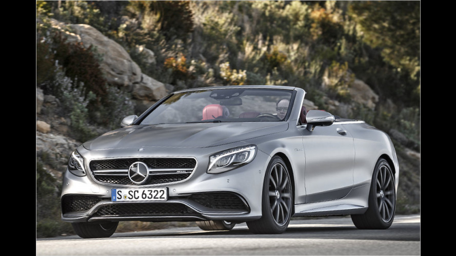 Mercedes-AMG S 63 4Matic Cabrio im Test