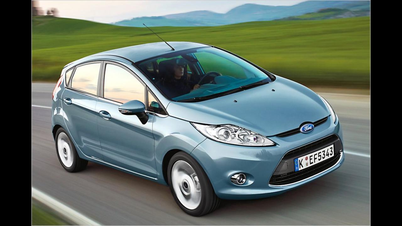 Kleinwagen, 3. Platz: Ford Fiesta