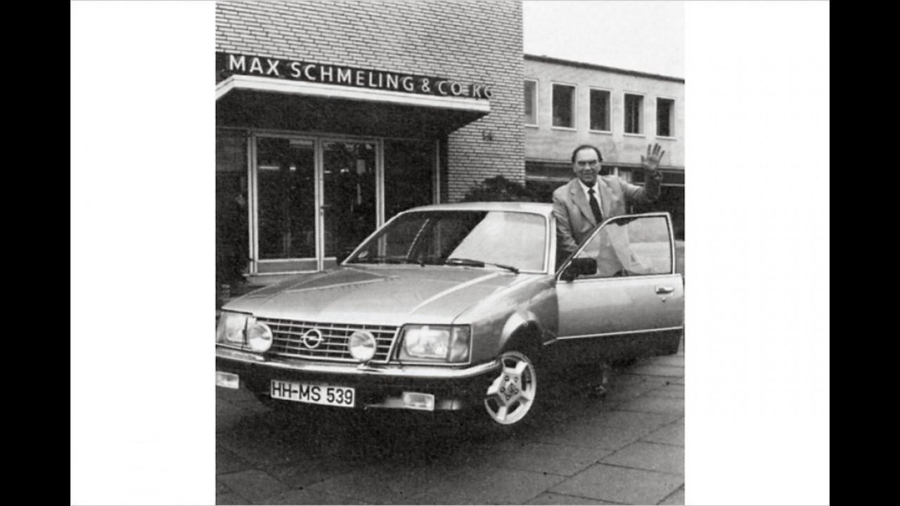 Max Schmeling: Opel Senator